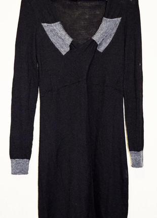 Очень классное трикотажное платье из мериносовой шерсти, мяген...