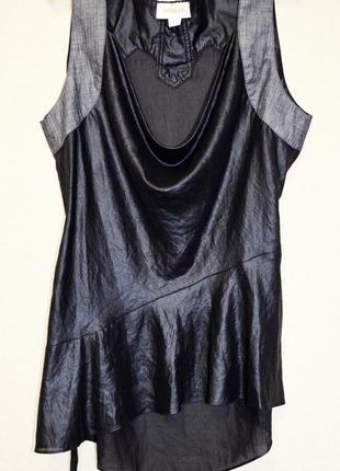 Шикарная брендовая асимметричная блузочка diesel оригинал