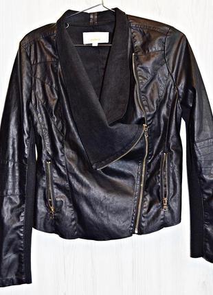 Очень классная курточка из мягкой и качественной эко кожи фирм...