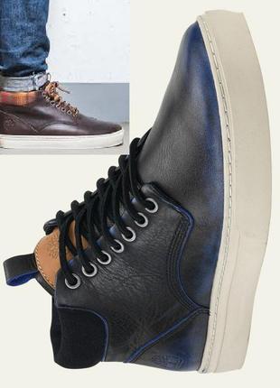 Ботинки сникерси шкіряні timberland чоботи чоловічі a12e8