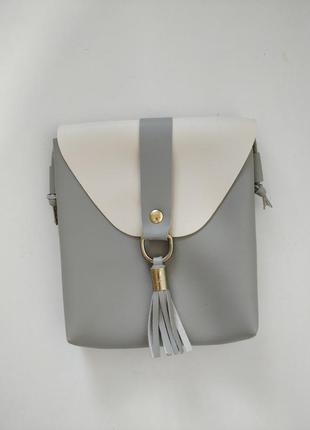 Новая серая сумочка