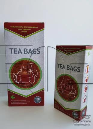 Фильтр-пакет для чая на чашку, 100 шт