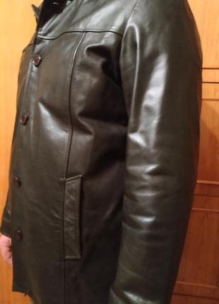 Куртка мужская, натуральная кожа, vera pelle,xxl