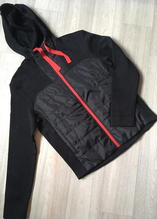 Спортивная курточка-кофта на флисе kaytan (нидерланды) размер m