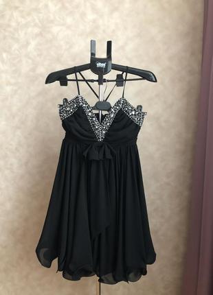 Шикарное коктейльное, вечернее платье бренда french connection...