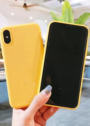 Мягкий силиконовый чехол на iphone 6, 6s