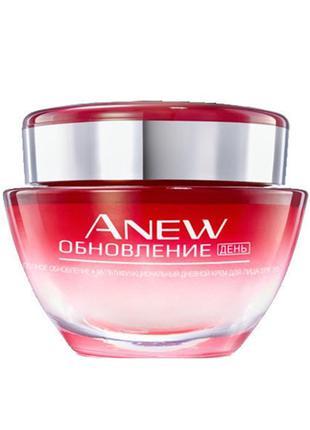 """Мультифункциональный дневной крем для лица avon anew """"полное о..."""
