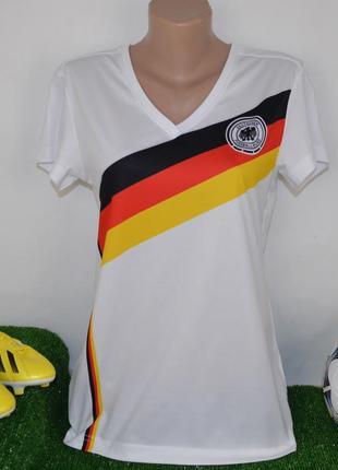 Брендовая спортивная футболка сборной германии dfb deutscher
