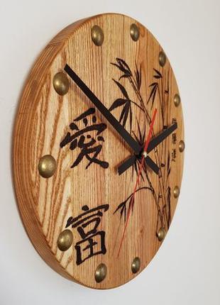 """Часы из натурального дерева """"Восток 2"""""""