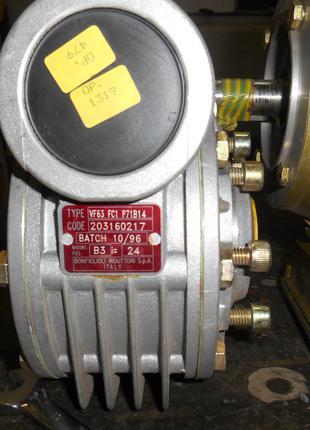 Червячный мотор редуктор BONFIGLIOLI VF 63 ITALY