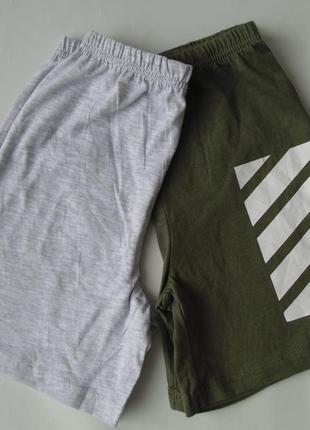 Набор 2 ед. пижама пижамные шорты primark 7-8 лет 128 см