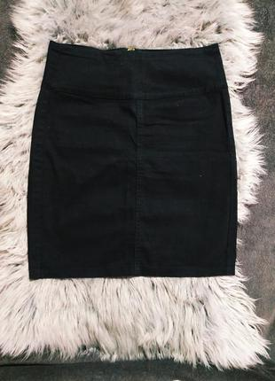 💥sale💥  юбка  черная джинсовая pieces accessories