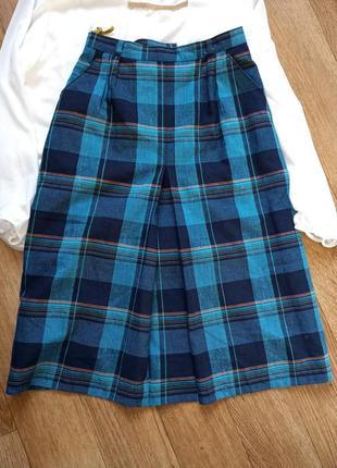 Стильная юбка шотландка 44-46 canda