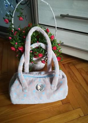 Меховая детская сумочка niki