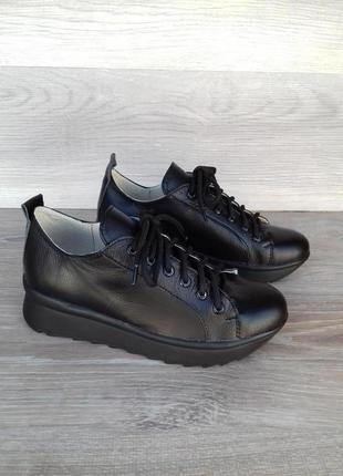 Кожаные кроссовки, 37 39 40 размера , распродажа / шкіряні кро...