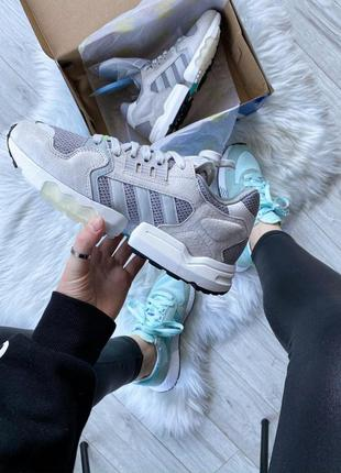 Шикарные мужские замшевые кроссовки adidas zx 😍 (весна/ лето/ ...