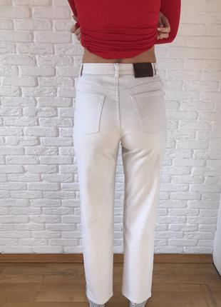 Плотные мом джинсы высокая посадка ralph lauren jeans