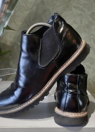 Мужские ботинки, туфли кожаные  42р venice