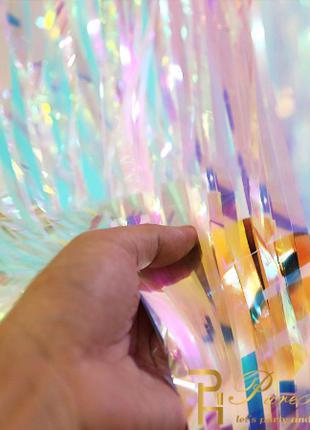 Перламутровый дождик для фотозоны - (высота 2 метра, ширина 1 мет