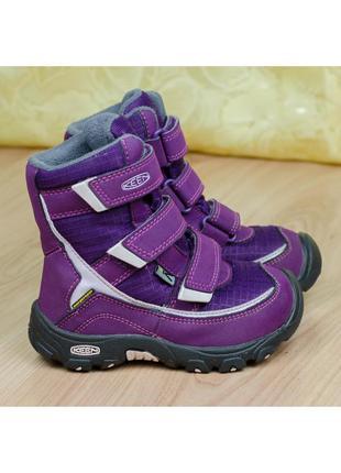 Зимние детские непромокаемые сапоги ботинки keen trezzo ii wp ...