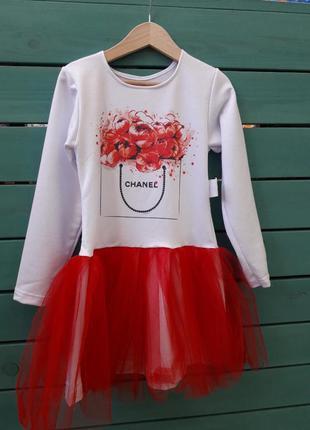 Стильное платье идеально для садика и праздников