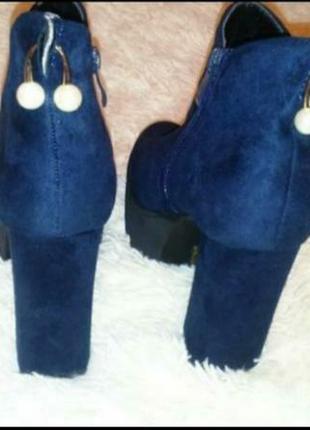 Новые ботинки размер 38