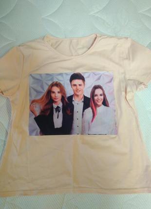 Костюм для девочки футболка + юбка