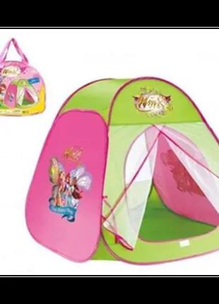 Детская палатка домик  winx