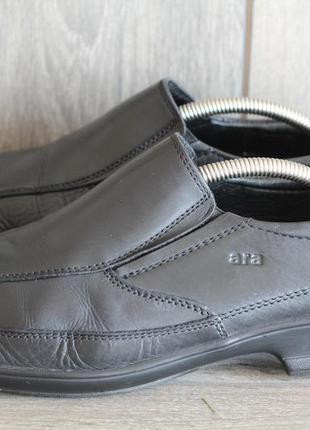 Шикарные кожаные легкие туфли ara