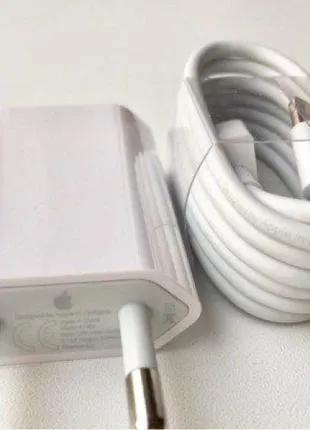 Оригинал блок зарядки кабель лайтинг lightning с комплекта iPhone