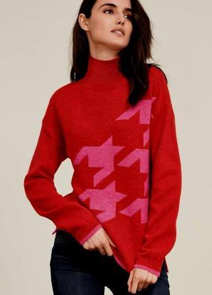 Мягкий яркий свитер от  бренда next
