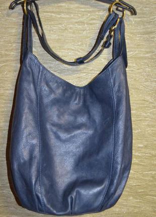Стильная кожаная сумка , италия