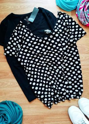 Женская брендовая легкая комфортная футболка next - большой ра...