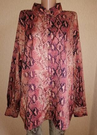 🔥🔥🔥красивая женская блузка, рубашка в змеиный принт 14 р. in t...