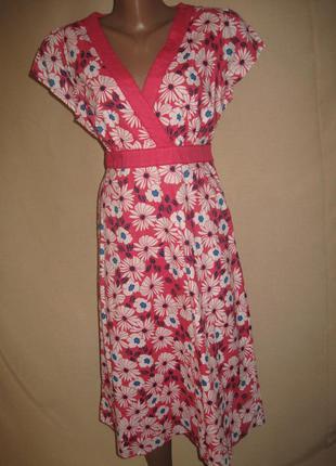 Натуральное платье debenhams р-р14