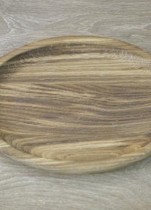 Деревянная доска для подачи блюд 30-20 см