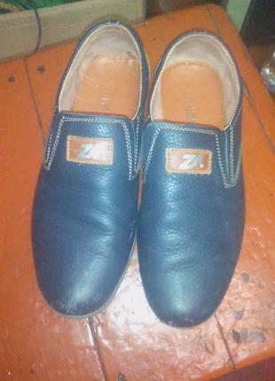 Итальянские кожаные туфли на мальчика