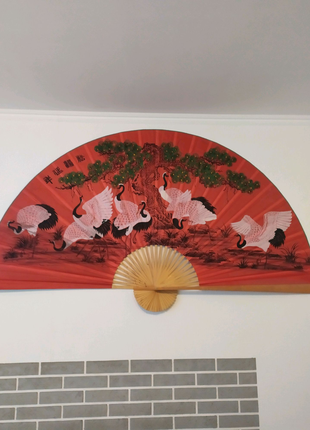 Продам опахало (большой веяр)декор