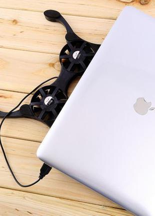 Подставка для ноутбука кулер ErgoStand TS-202 с подсветкой