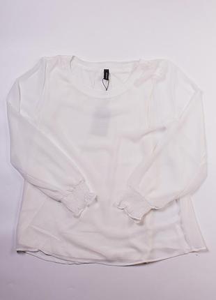 Нежная белая блуза soyaconcept