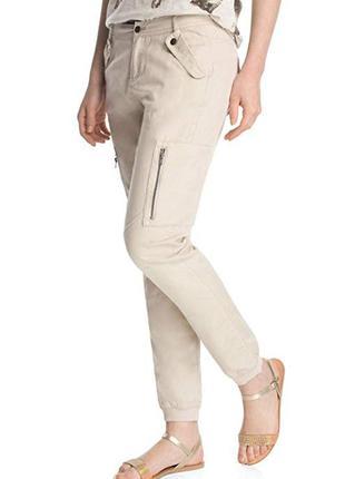 Edc by esprit linen patch 045cc1b034, женские брюки