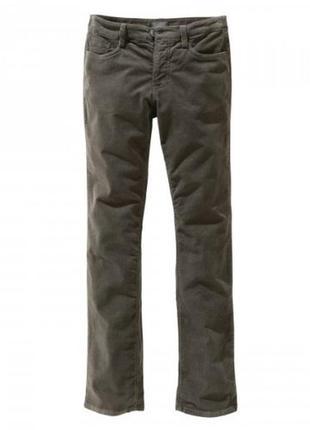Джинсы his-среднего размера брюки  вельвет