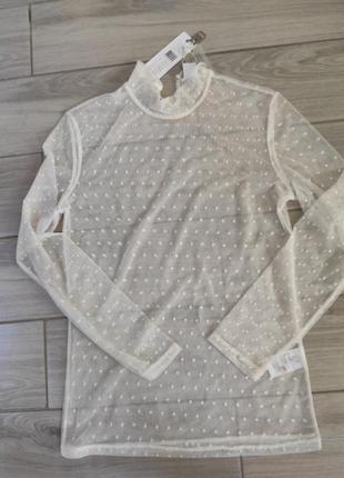 Прозрачная блуза /гольф saint tropez