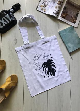 Лляная еко сумка шоппер