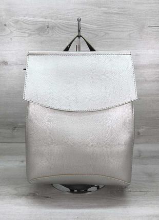 Рюкзак трансформер, молодежный городской рюкзак сумка, классика