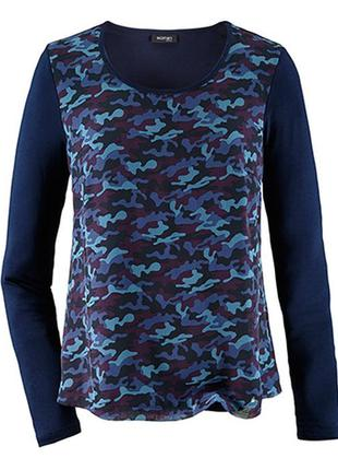 Комбинированная блуза tcm tchibo