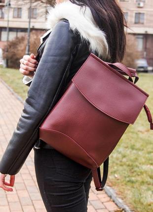 Рюкзак трансформер, молодежный городской рюкзак сумка, классич...