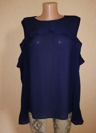 🔥🔥🔥новая легкая женская блузка, кофта, джемпер с открытыми пле...