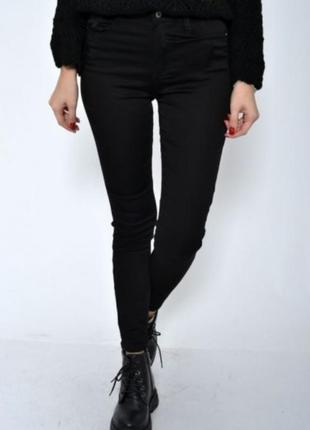❤️❤️❤️укороченые скинни джинсы 28 размер