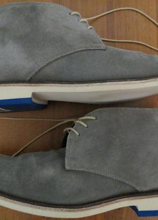 Демисезонные замшевые ботинки floris van bommel{оригинал}р.43-44